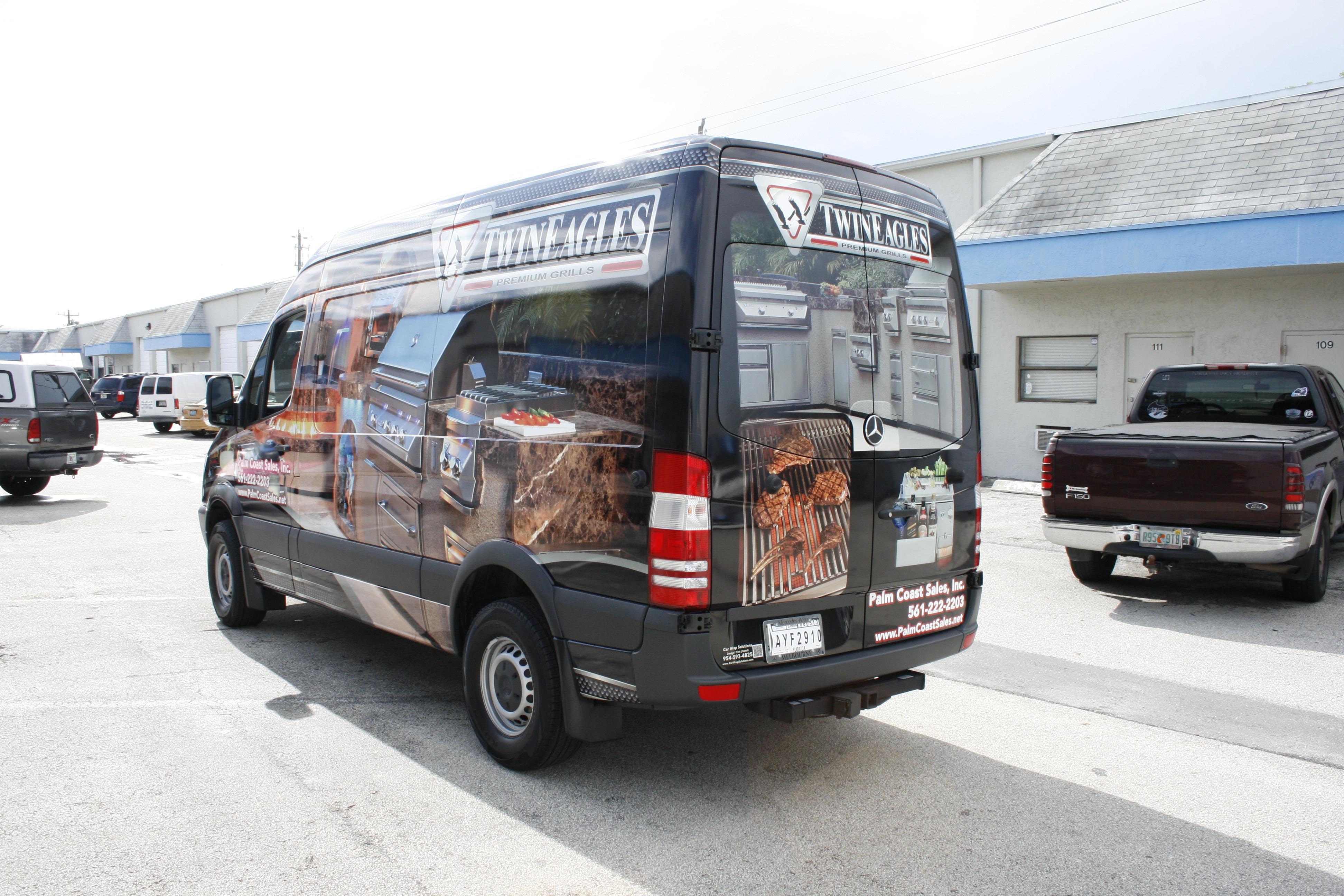 mercedes sprinter 3m vinyl vehicle wrap jupiter florida. Black Bedroom Furniture Sets. Home Design Ideas
