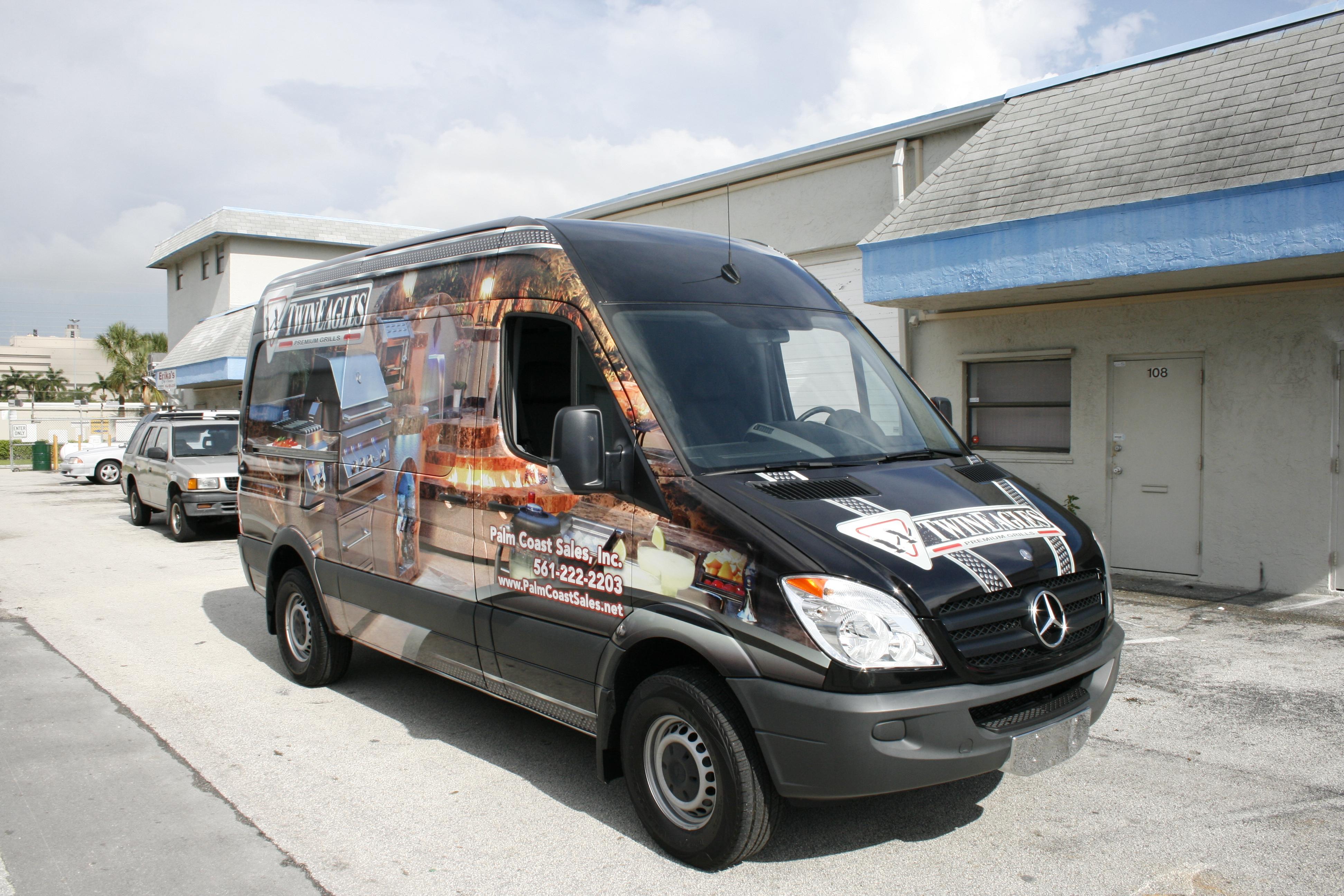Mercedes Sprinter 3M Vinyl Vehicle Wrap Jupiter Florida for