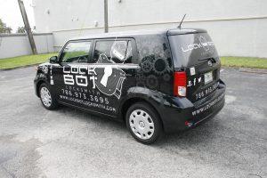 Locksmith Fort Lauderdale Car Wrap