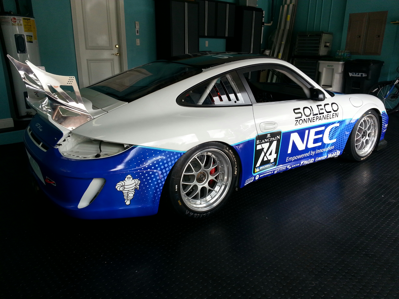 Palm Beach Porsche 911 GT3 Race Car Vinyl Wrap Graphics