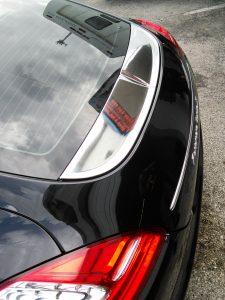 Porsche Panamera Chrome Car Wrap  Miami Florida
