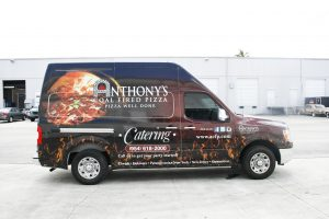 Nissan NV 2500 Van Wrap Davie Florida