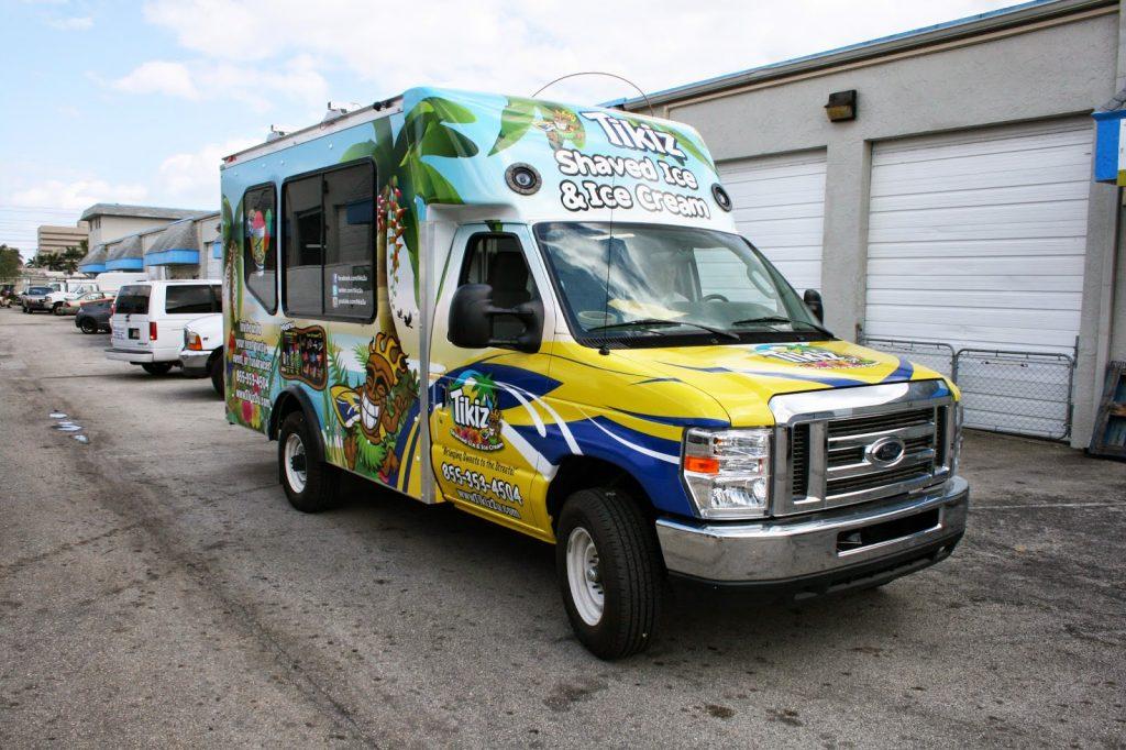 Custom Food Trucks Fort Lauderdale