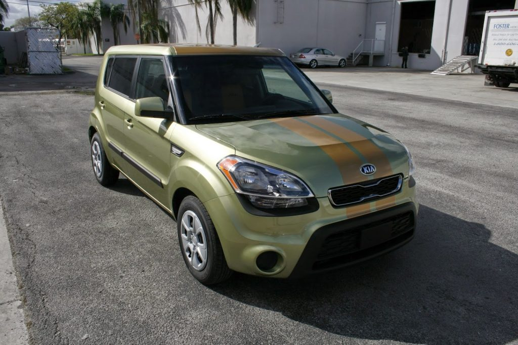 Kia Soul Fort Lauderdale Florida Vinyl Racing Stripes
