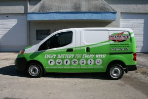 Nissan NV 200 Van Car Wrap Sunrise Florida