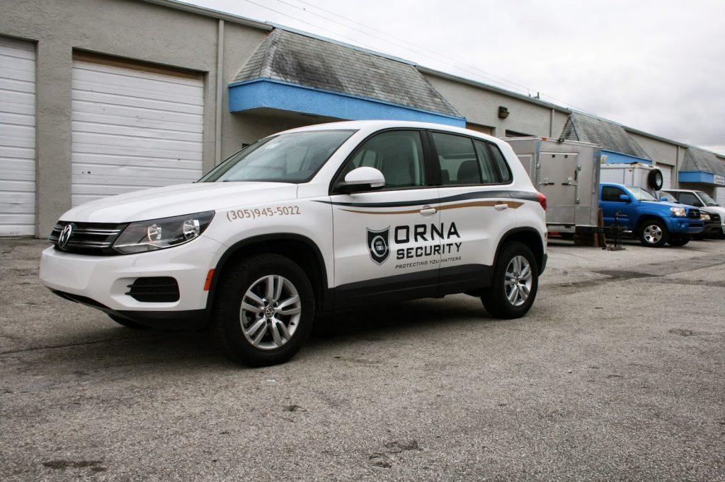 Security Car Graphics Amp Lettering Miami Florida