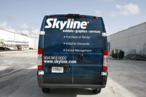 Davie Florida Dodge Promaster van wrap