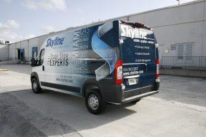 Dodge Promaster vinyl vehicle wrap
