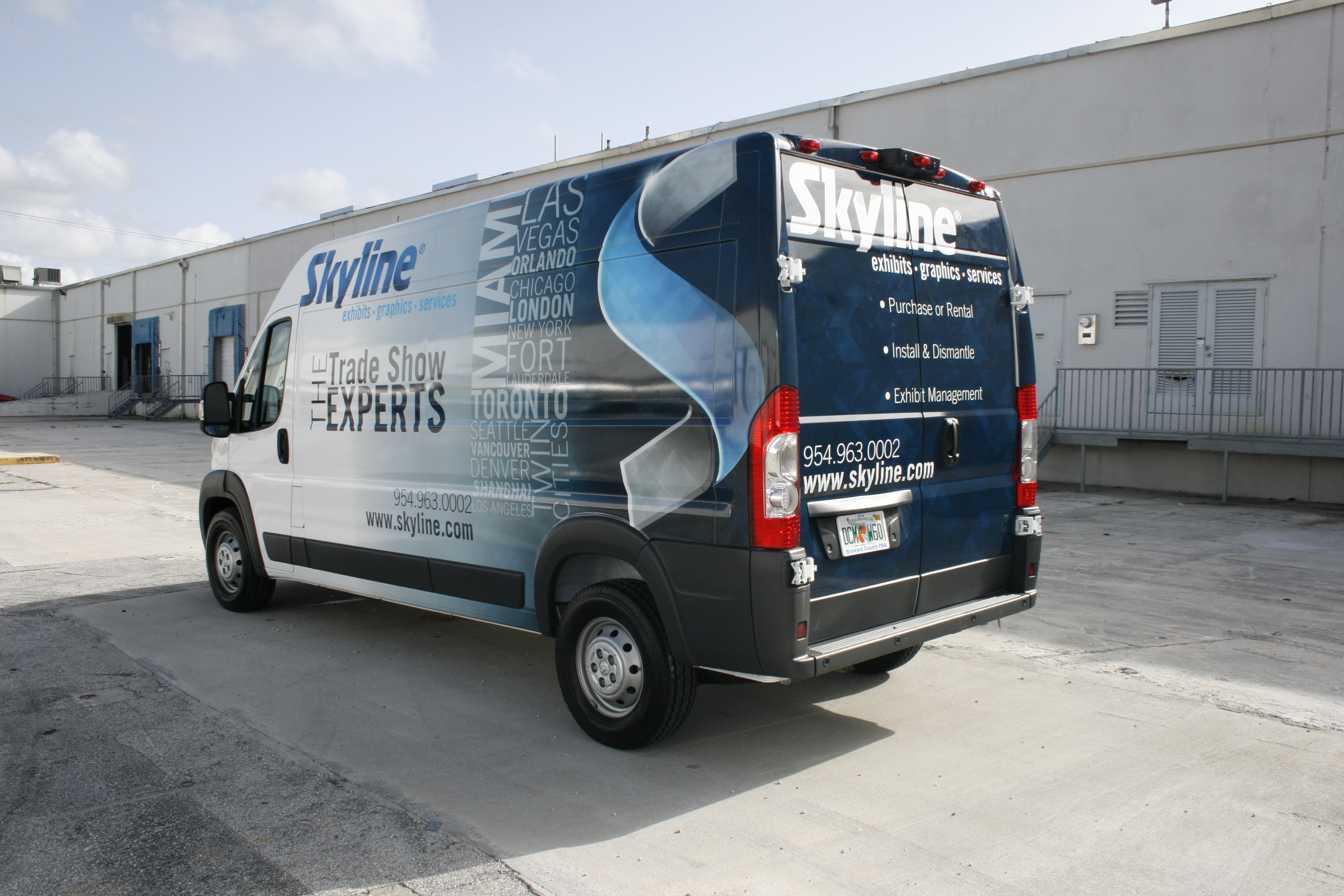 Car Wrap Vinyl >> Dodge Promaster Van Vehicle Wrapping | 3M Preferred Certified Installers Car Wrap Solutions