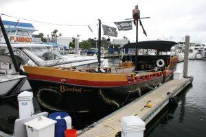 Bluefoot Kraken boat graphics Fort Lauderdale