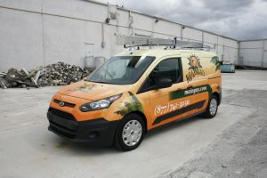 Ford Transit Connect Vehicle Wrap