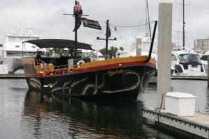 Kraken octopus boat decals Fort Lauderdale