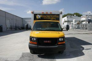 Miami Florida box truck wrap advertising