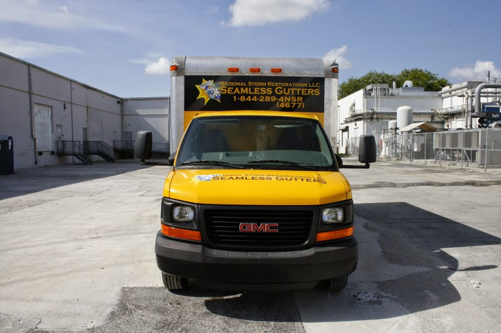 Miami Florida Commercial Box Truck Vehicle Wrap