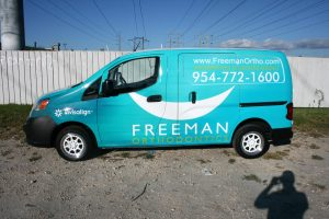 Nissan NV 200 Vehicle Wrap