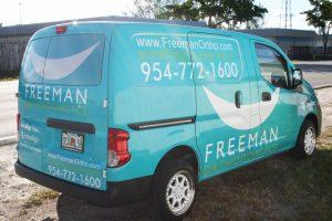 Orthodontics car wrap Fort Lauderdale Florida