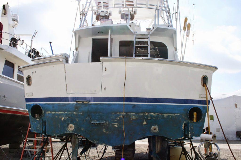 Boat Amp Yacht Transom Vinyl Wrap West Palm Beach Fort
