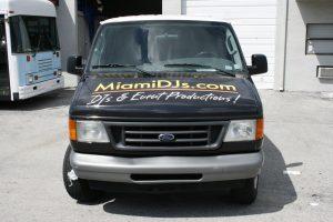 Miami South Beach Vehicle Wrap