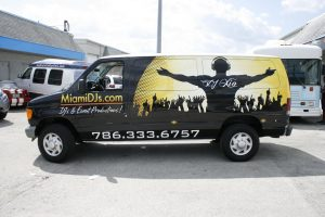 Vehicle Wrap South Beach Miami