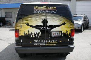 Vinyl wrap South Beach Miami
