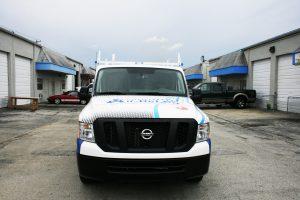 Air Conditioning car wrap Delray Beach Florida