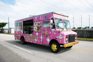 Food Truck Vehicle Wrap Miami Florida