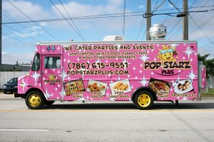 Food Truck Vinyl Wrap Miami Florida