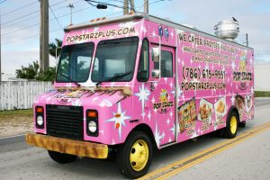 Miami Florida Food Truck Graphic Desgin