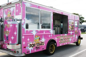 Miami Florida Food Truck Vehicle Wrap