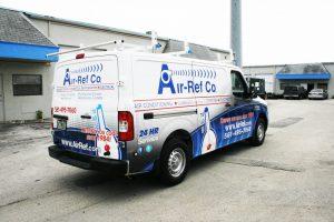 Nissan NV commercial van wrap