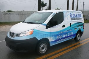 Davie Florida Nissan NV 200 graphics