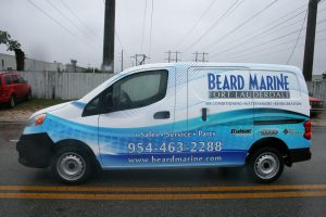 Davie Florida Nissan NV 200 van wrap