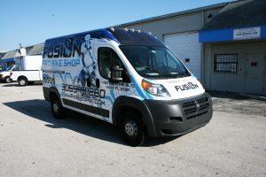 Dodge Promaster Car Wrap Miami Florida