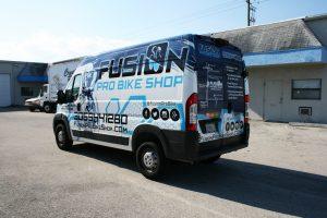 Dodge Promaster Miami Van Graphics