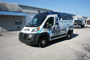 Dodge Promaster Miami Vehicle Wrap