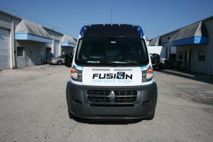Dodge Promaster Van Lettering Miami Florida