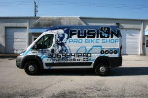 Dodge Promaster Van Wrap Miami Florida