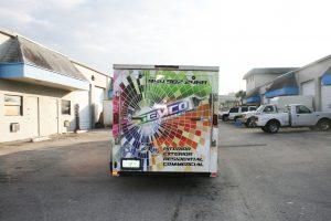 Hollywood Florida Vinyl trailer wrap