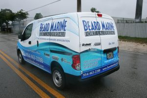 Nissan NV 200 fleet graphics Davie Florida