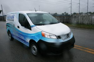 Nissan NV 200 fleet wrap Davie Florida