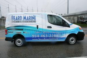 Nissan NV 200 van wrap Davie Florida