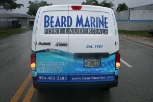 Nissan NV200 commercial graphics Davie Florida