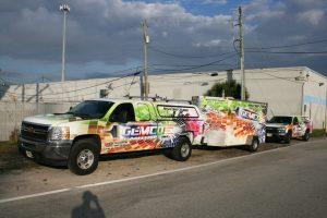 Truck Trailer Wrap Davie Florida