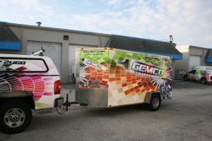 trailer vinyl graphics Hollywood Florida