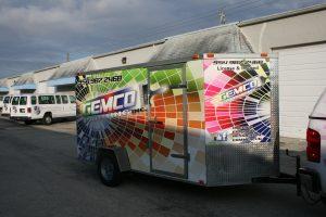trailer vinyl wrapping Hollywood Florida