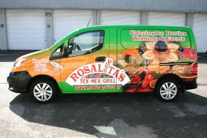 Nissan NV 200 car wrap Atlantis Florida