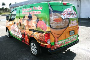 Nissan NV 200 car wrap West Palm Beach Florida