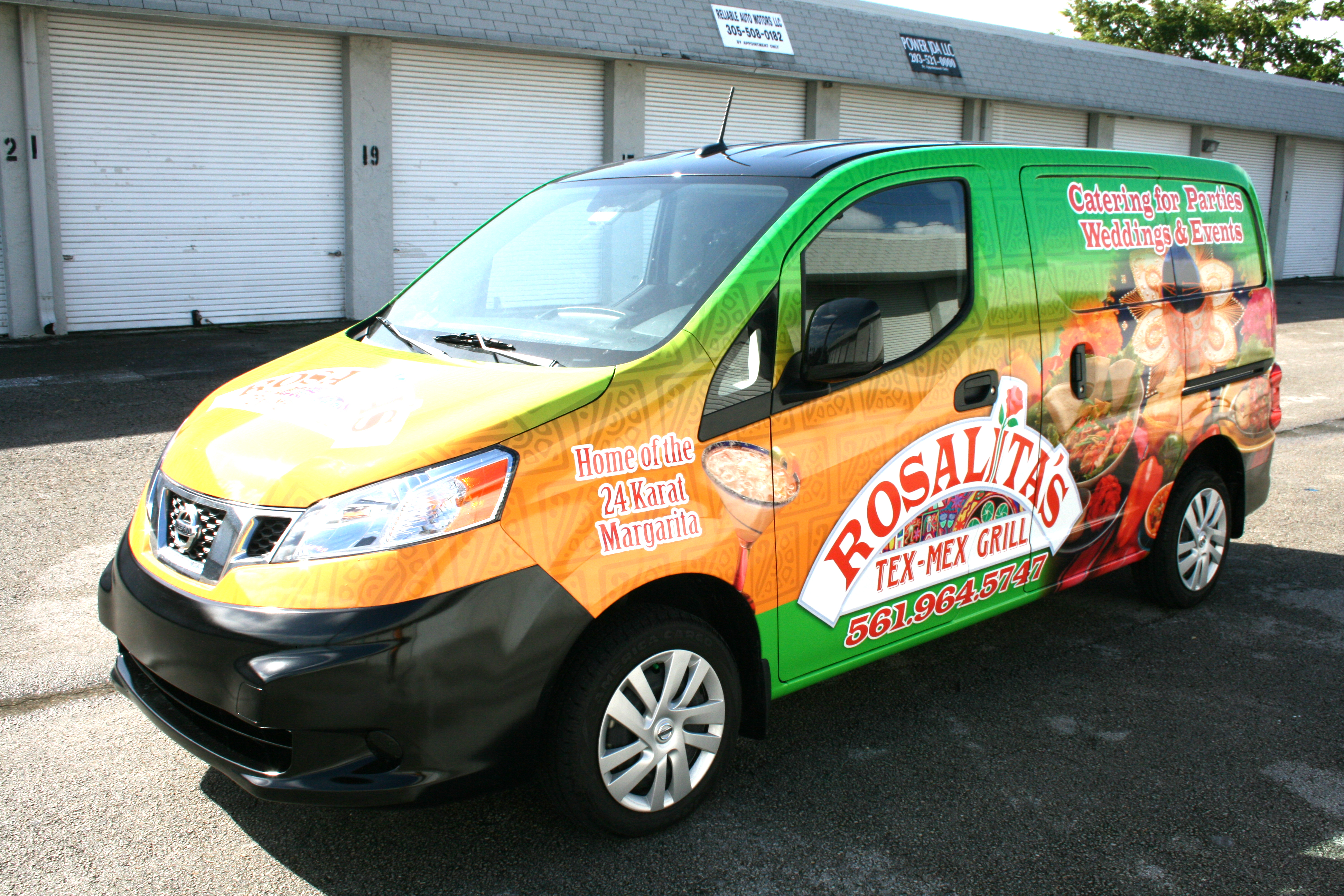 Nissan Nv Commerical Cargo Van Graphics West Palm Beach