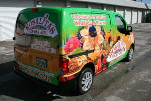 Nissan NV 200 vehicle wrap West Palm Beach Florida