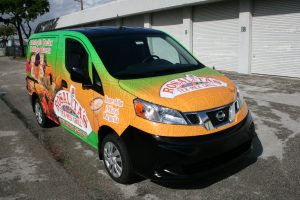 West Palm Beach Nissan NV 200 van wrap